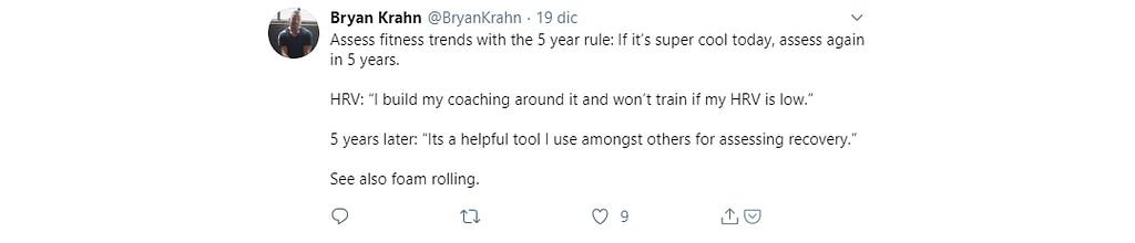 Tweet Bryan Krahn Fitness Trends