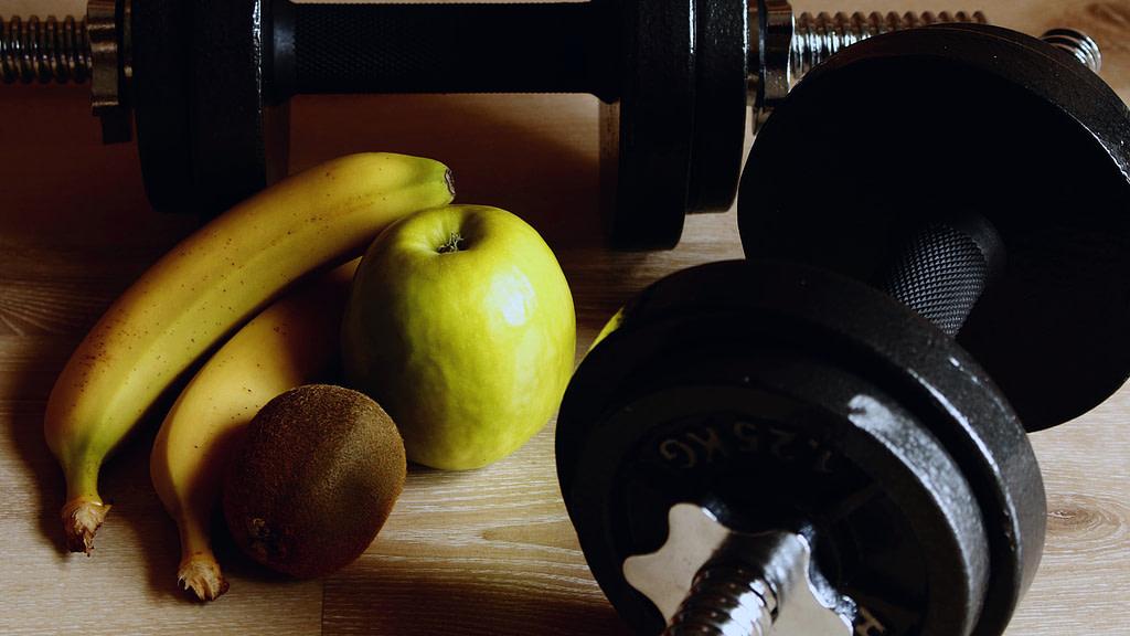 integratori per sportivi manubrio frutta