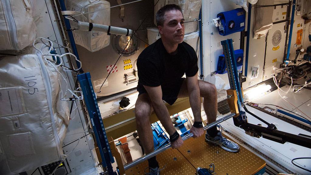 astronauti delle quattro mura Chris Cassidy aRED
