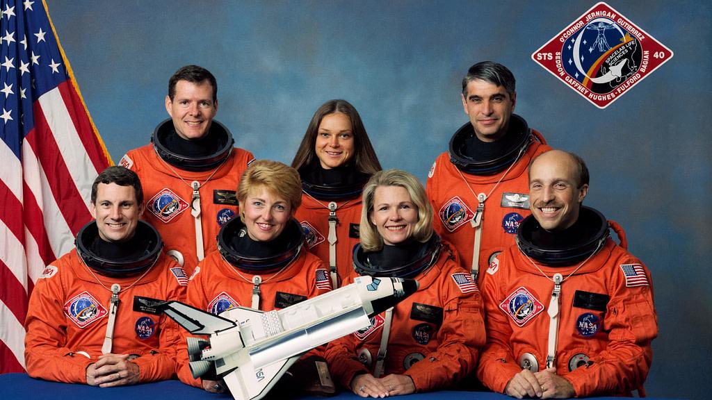astronauti delle quattro mura Equipaggio missione STS-40