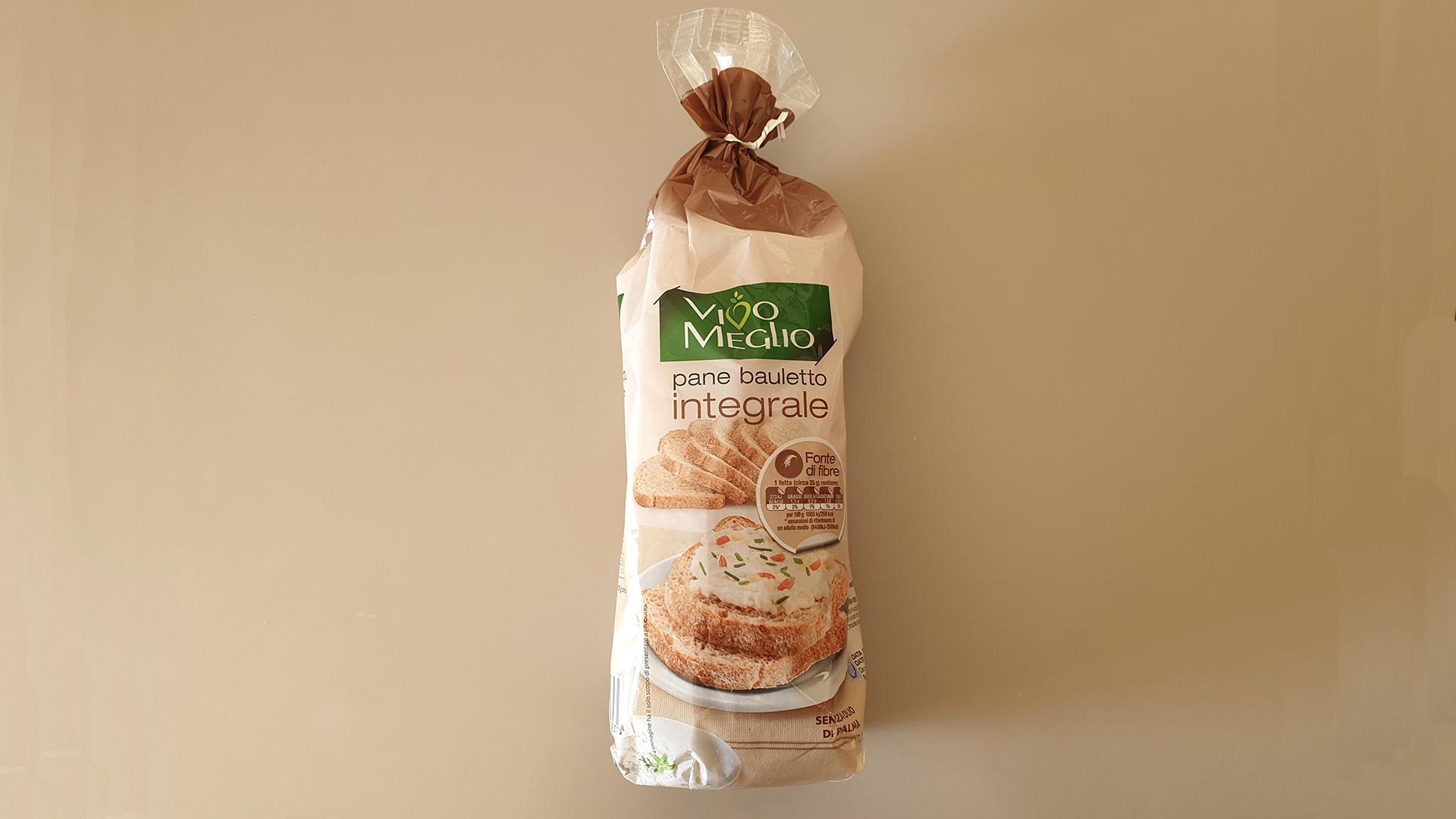 calcolare le calorie pan bauletto 1