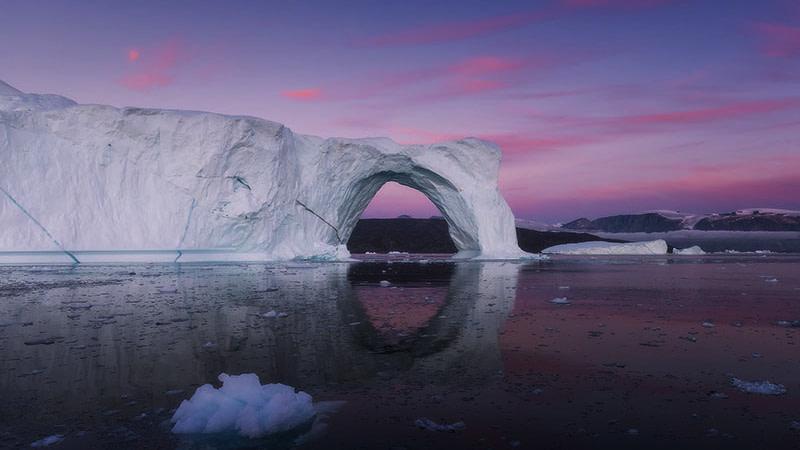 astronauti delle quattro mura Midnight Sun Groenlandia